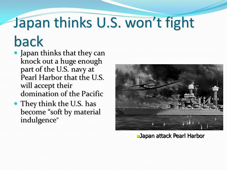 Japan thinks U.S.