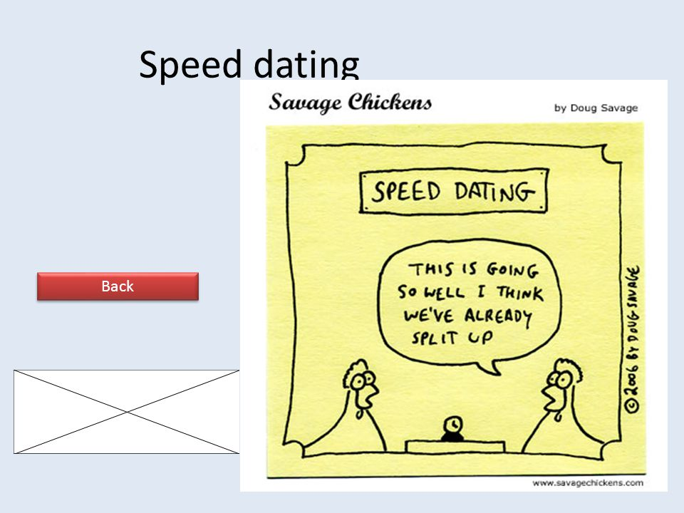 Speed dating Back