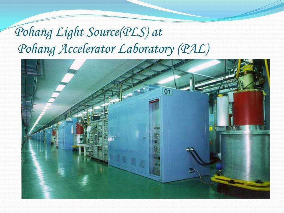 Pohang Light Source(PLS) at Pohang Accelerator Laboratory (PAL)