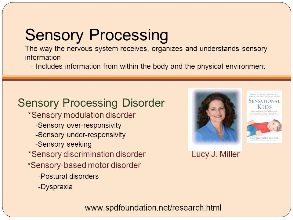 Sensory Modulation …the capacity to regulate and organize the degree, intensity, and nature of responses to sensory input in a graded and adaptive manner.