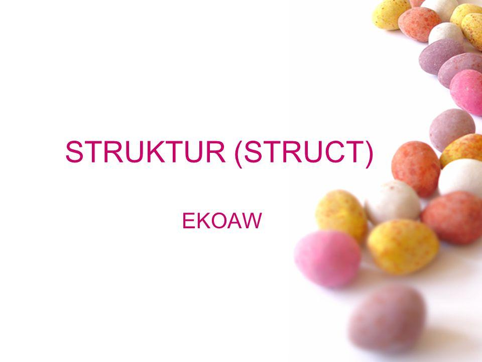 STRUKTUR (STRUCT) EKOAW