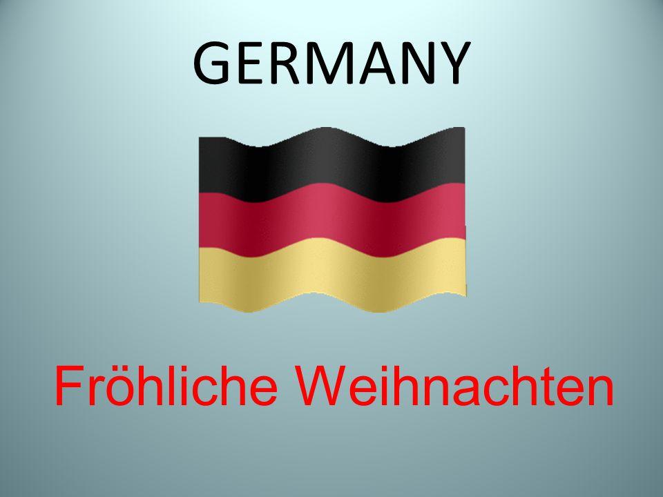 GERMANY Fröhliche Weihnachten