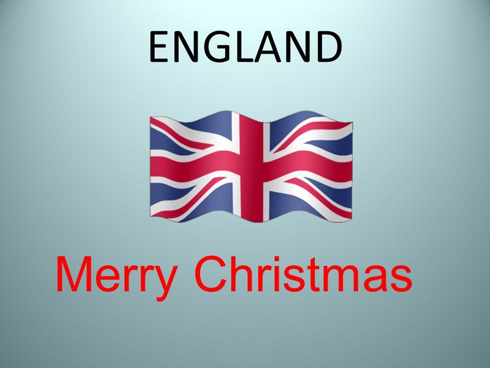 ENGLAND Merry Christmas
