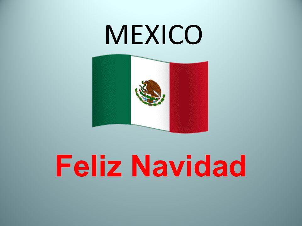 MEXICO Feliz Navidad