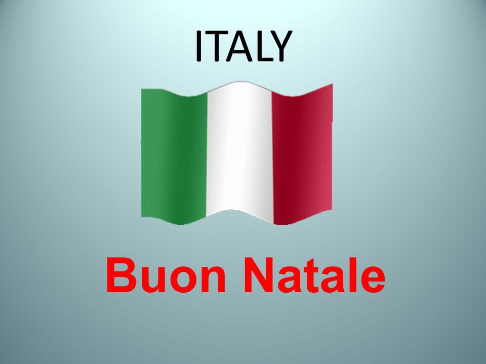 ITALY Buon Natale