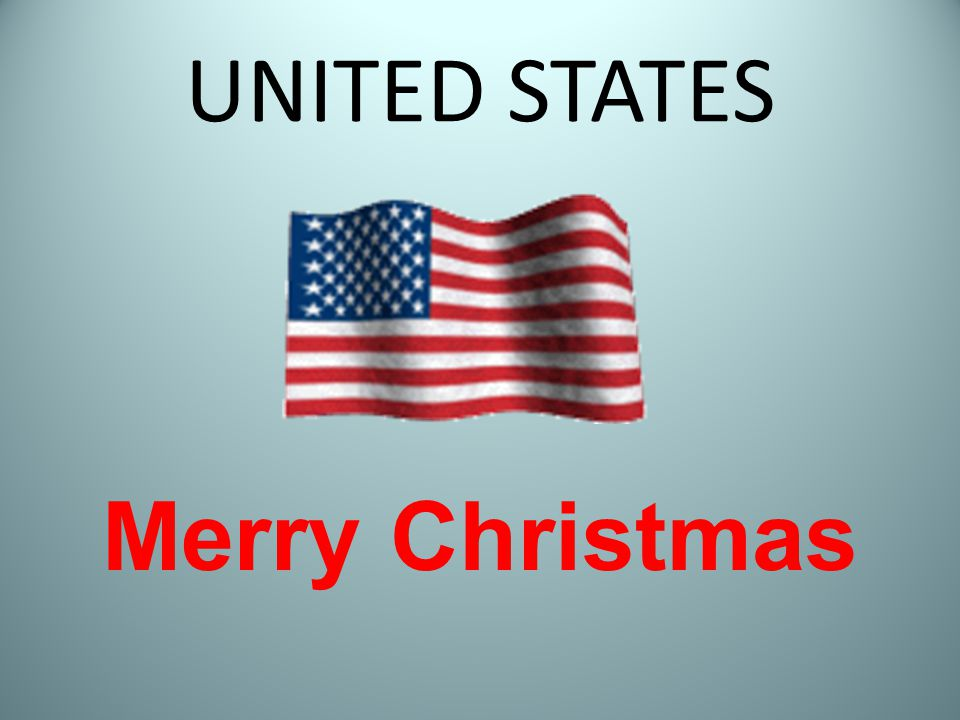 UNITED STATES Merry Christmas