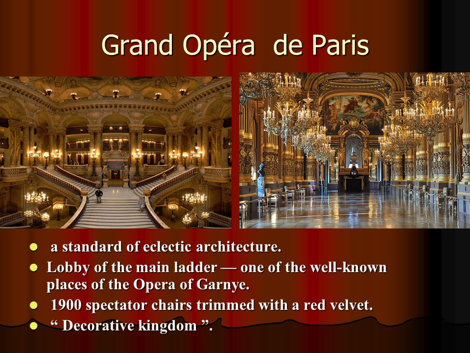 The Vienna State Opera It is one of the busiest opera houses in the world.