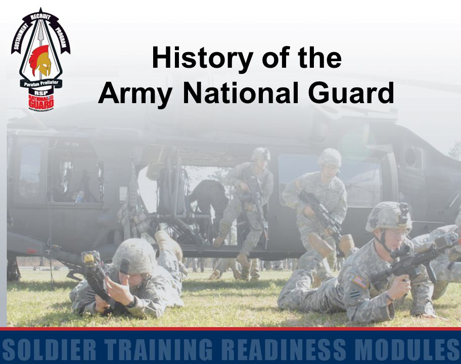 History of the Army National Guard