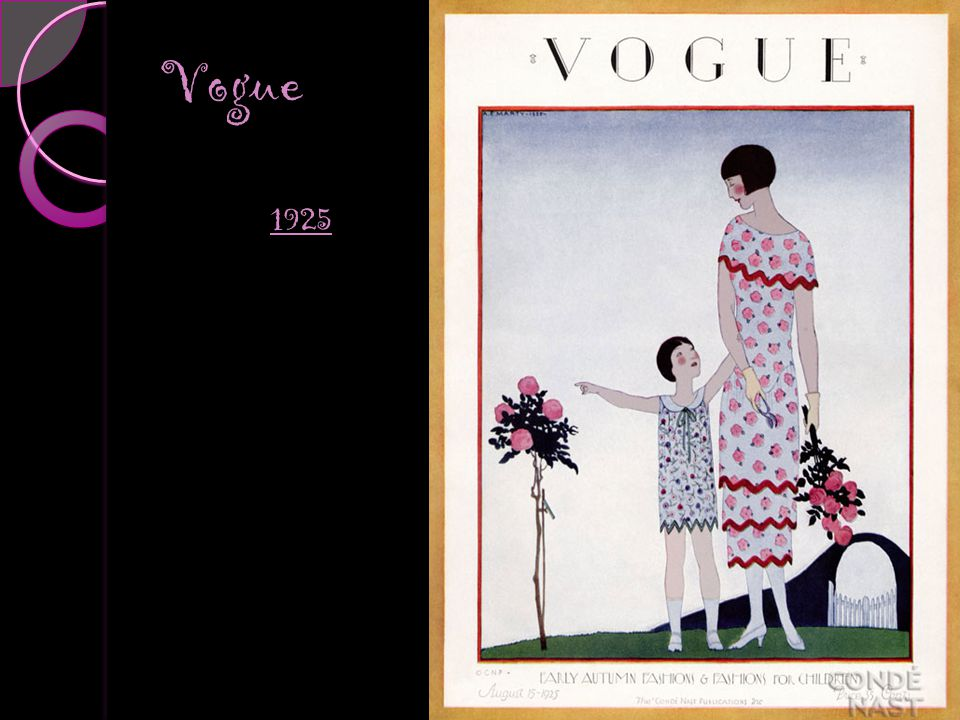 Vogue Covers 1910s Vogue 1925