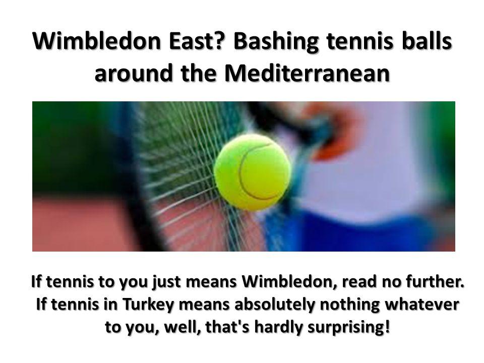 Wimbledon East.