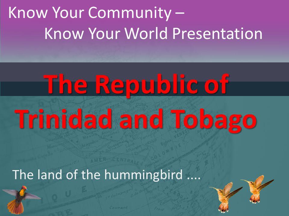 Trinidad & Tobago – Geography