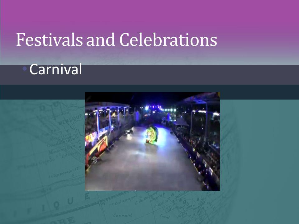 Festivals and Celebrations Carnival
