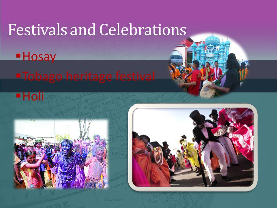 Festivals and Celebrations  Hosay  Tobago heritage festival  Holi