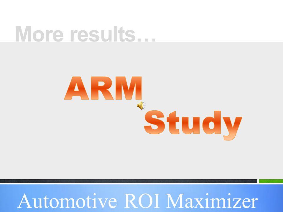 3 Results Guaranteed… American Printing USA Automotive ROI Maximizer