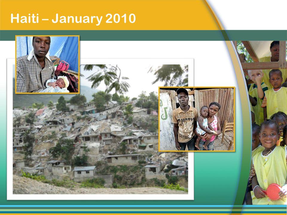 Haiti – January 2010