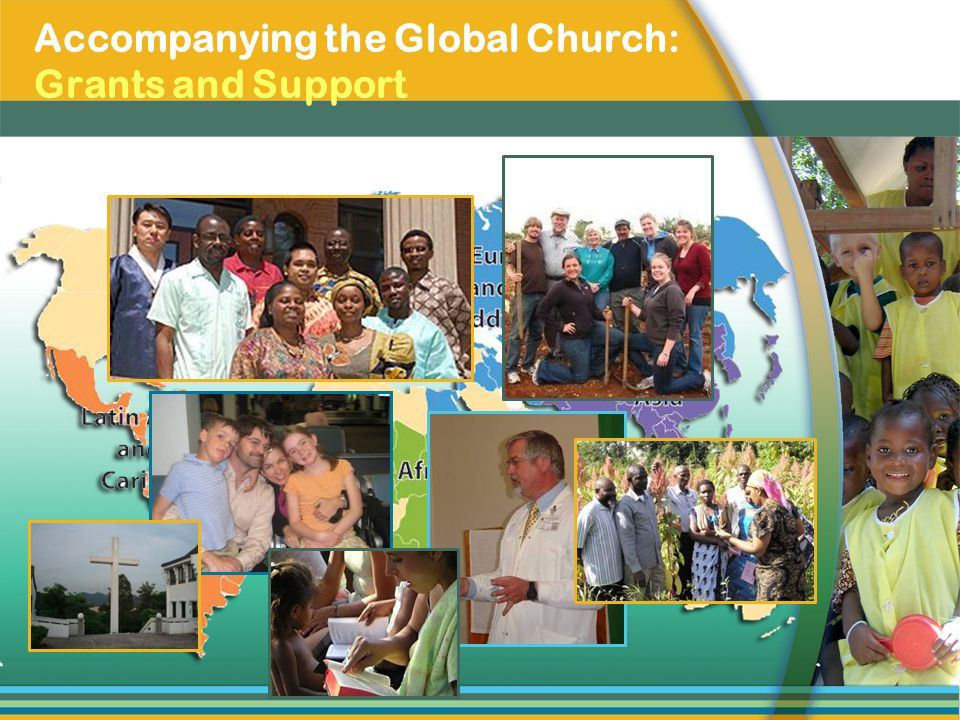 Accompanying the Global Church: Grants and Support