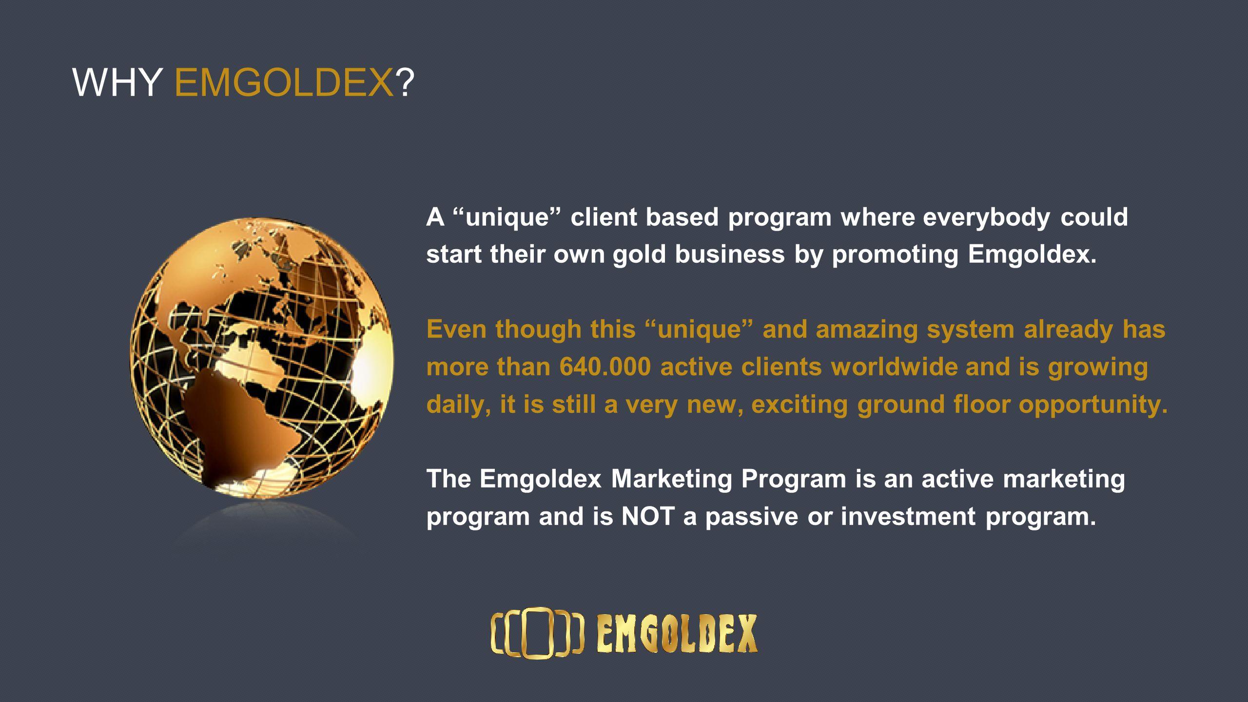 WHY EMGOLDEX.