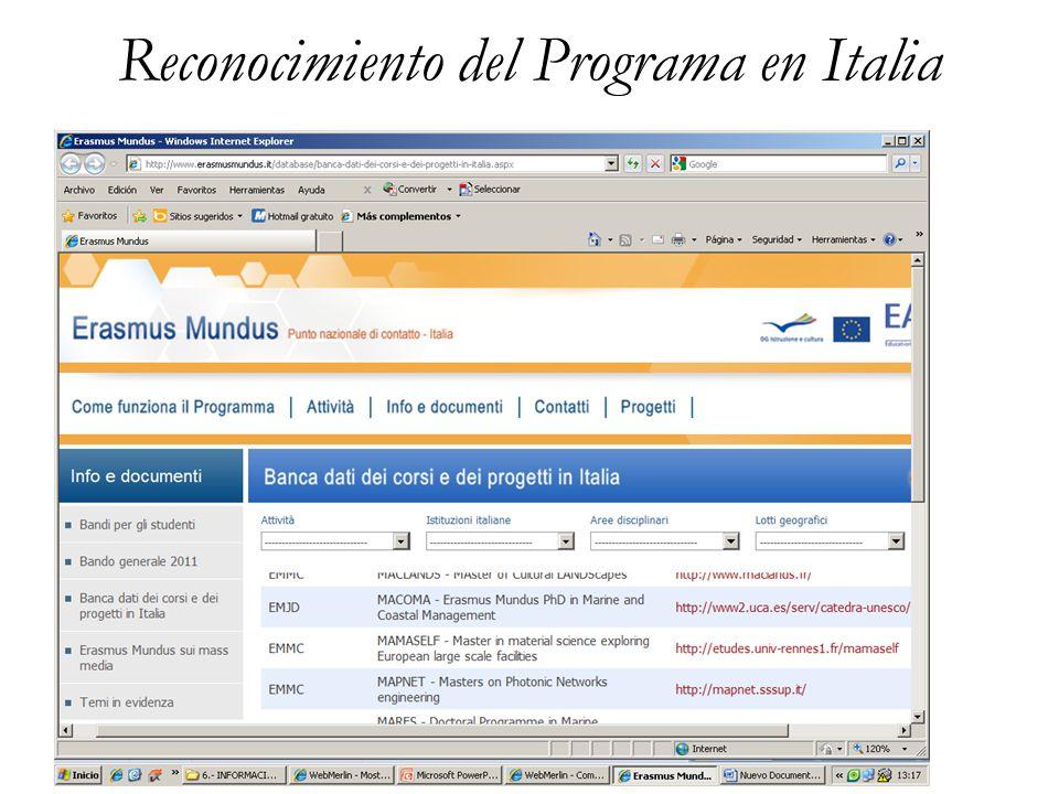 Doctorado Erasmus Mundus in Marine and Coastal Management 4.