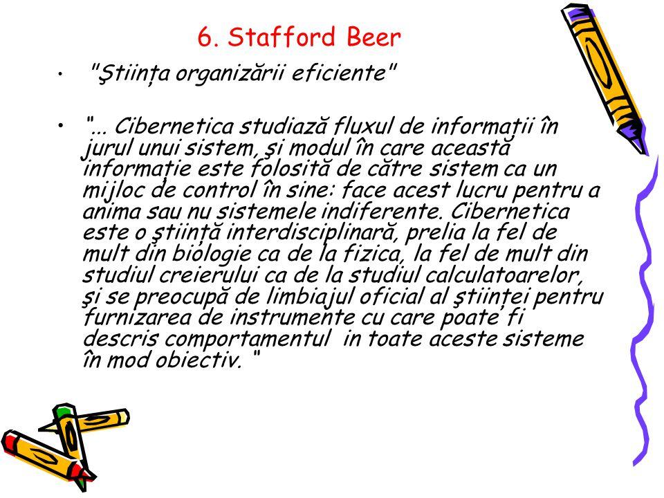 6. Stafford Beer Ştiinţa organizării eficiente ...