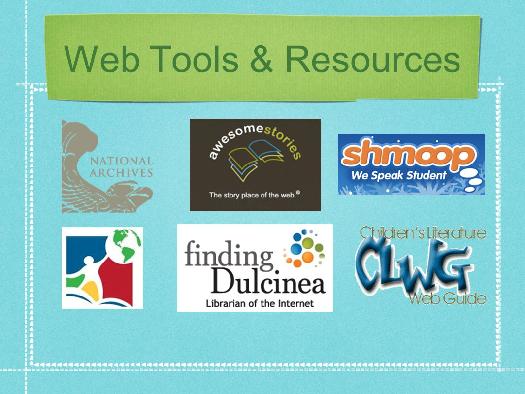 Web Tools & Resources