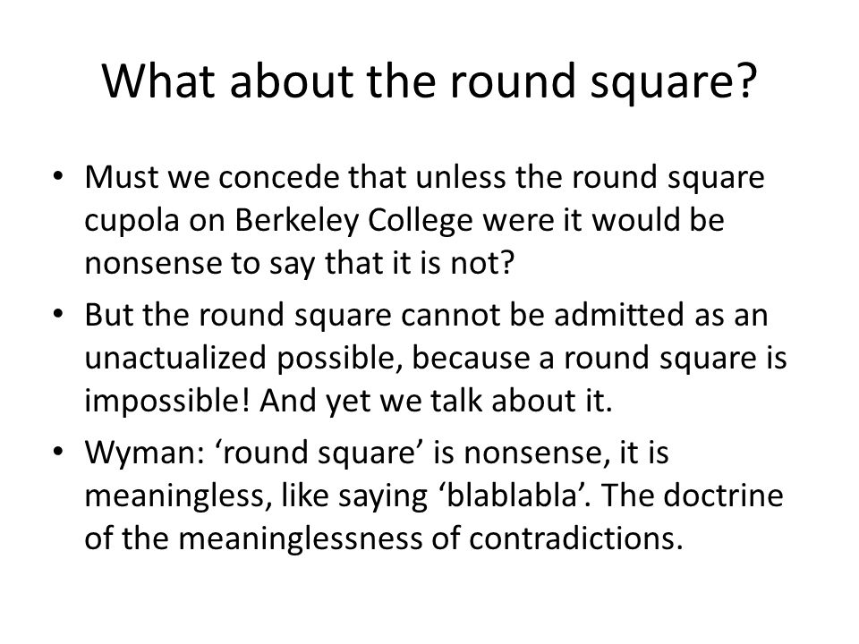 What about the round square.