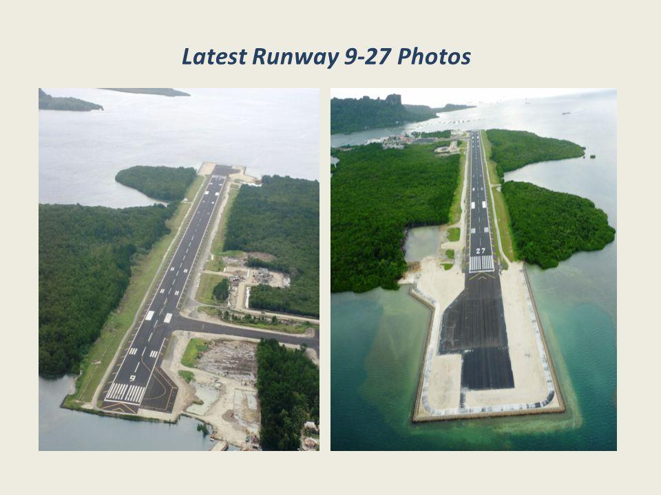 Latest Runway 9-27 Photos