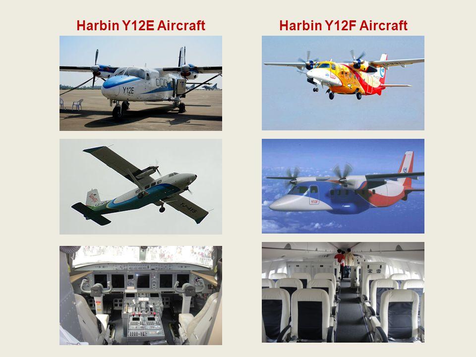 Harbin Y12E AircraftHarbin Y12F Aircraft