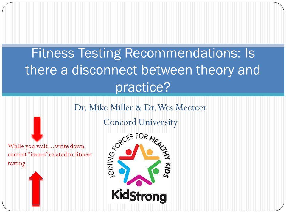 Dr. Mike Miller & Dr.