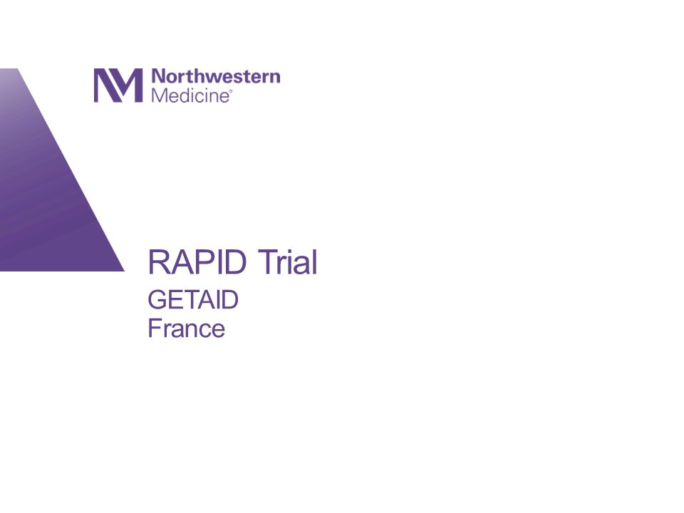 RAPID Trial GETAID France