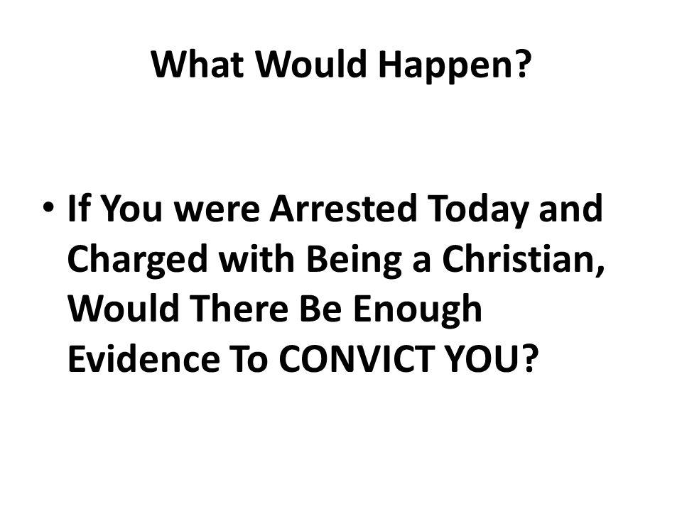 What Would Happen.