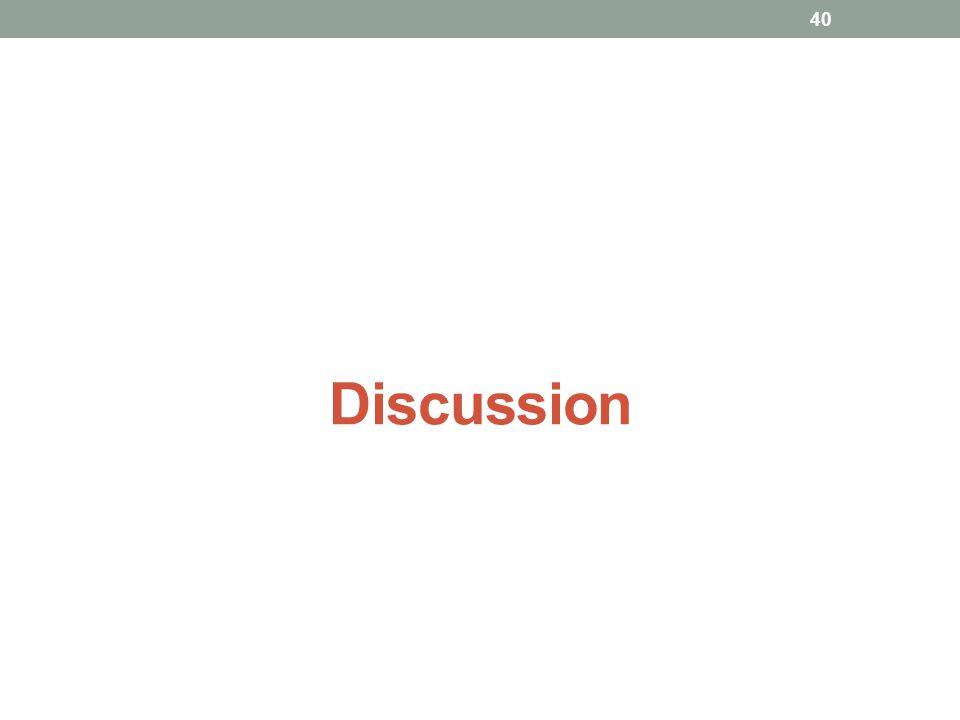 Discussion 40