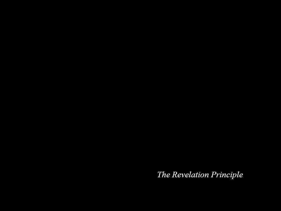 The Revelation Principle
