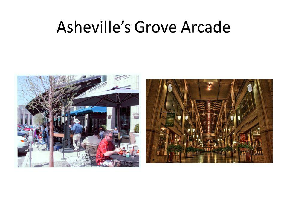 Asheville's Grove Arcade