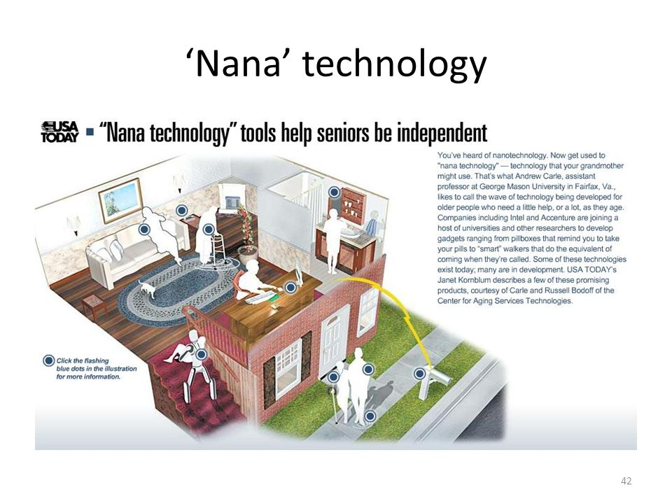 'Nana' technology 42