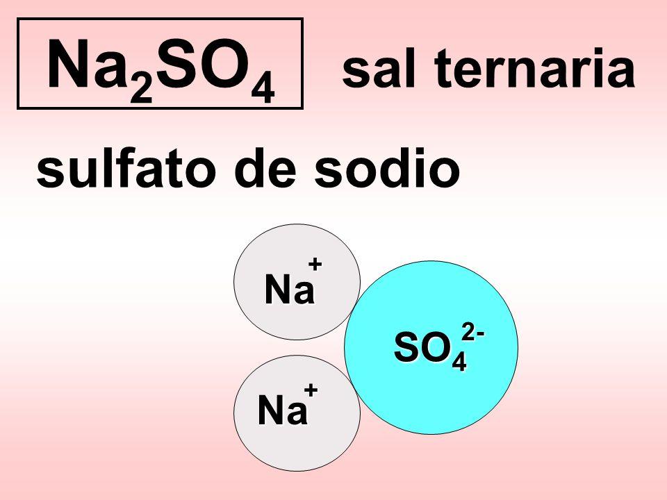 SO 4 2- enlace covalente polar anión poliatómico oxigenado anión sulfato