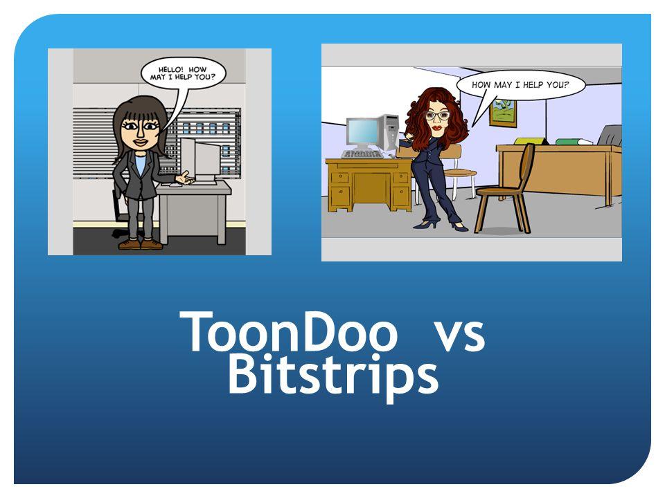 ToonDoo vs Bitstrips
