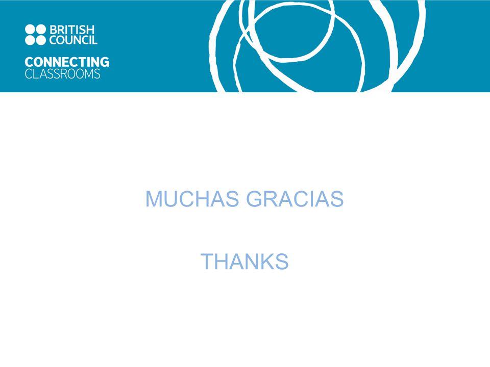 MUCHAS GRACIAS THANKS
