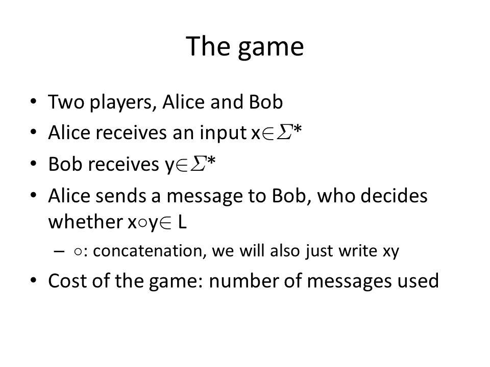 DFA and the game Theorem [DFA vs.