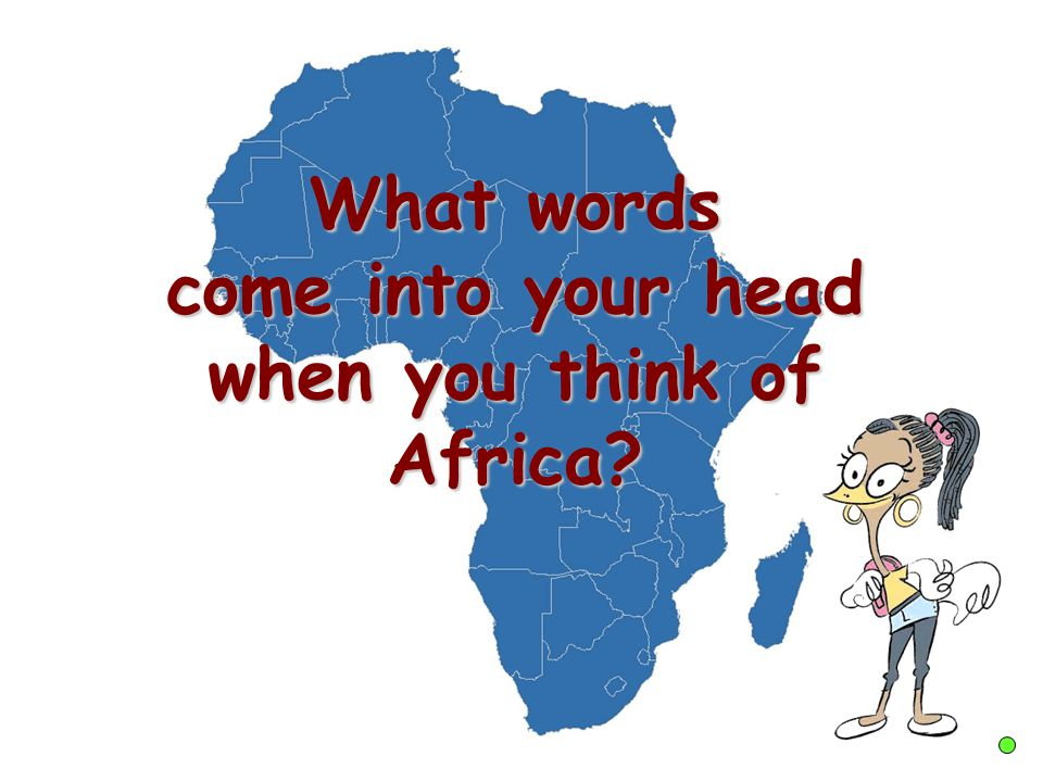 Hello! I'm Teefa and my mum comes from Nigeria, a country in Africa. In this lesson we will be learning about Africa.