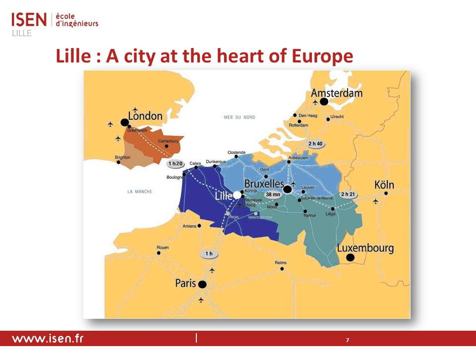 Lille : A city at the heart of Europe 7