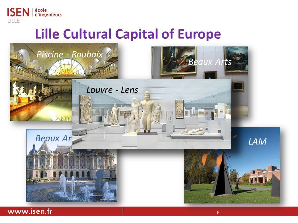 Lille Cultural Capital of Europe 9 Piscine - Roubaix LAM Beaux Arts Louvre - Lens Beaux Arts