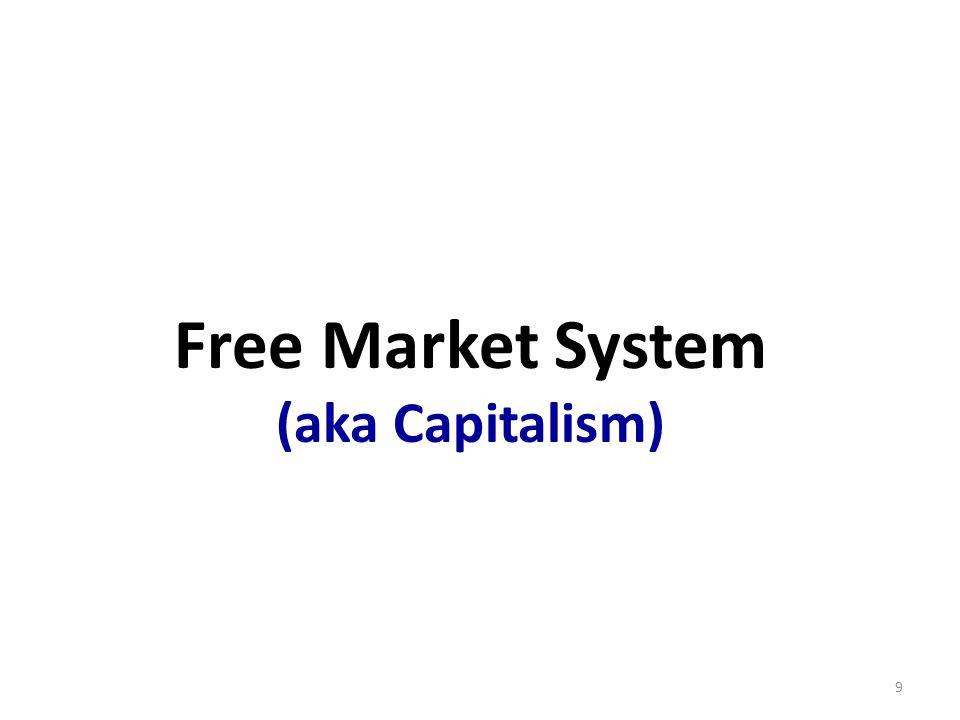 Free Market System (aka Capitalism) 9