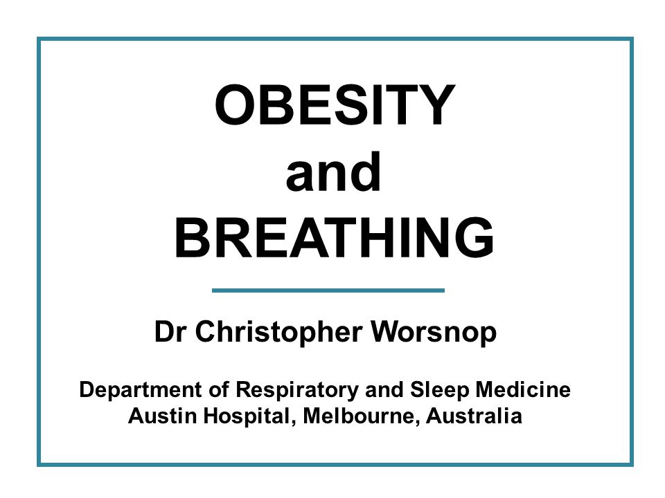 OBESITY and COPD Obese people with COPD have lower lung volumes at rest so there is more room for dynamic hyperinflation.