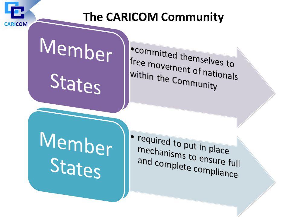 The CARICOM Community CARICOM