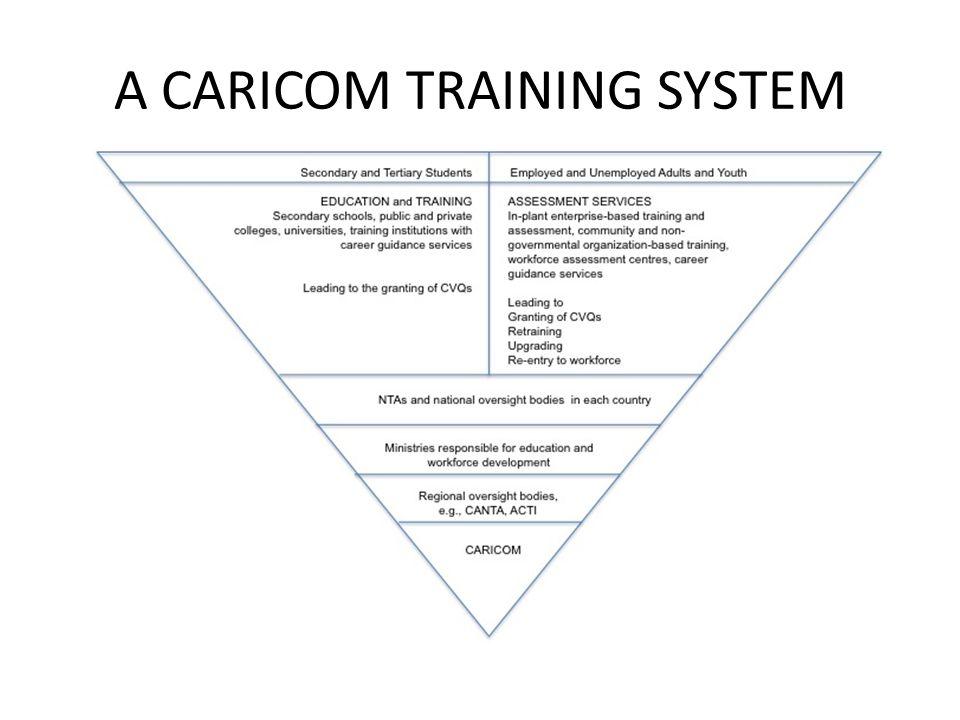 A CARICOM TRAINING SYSTEM