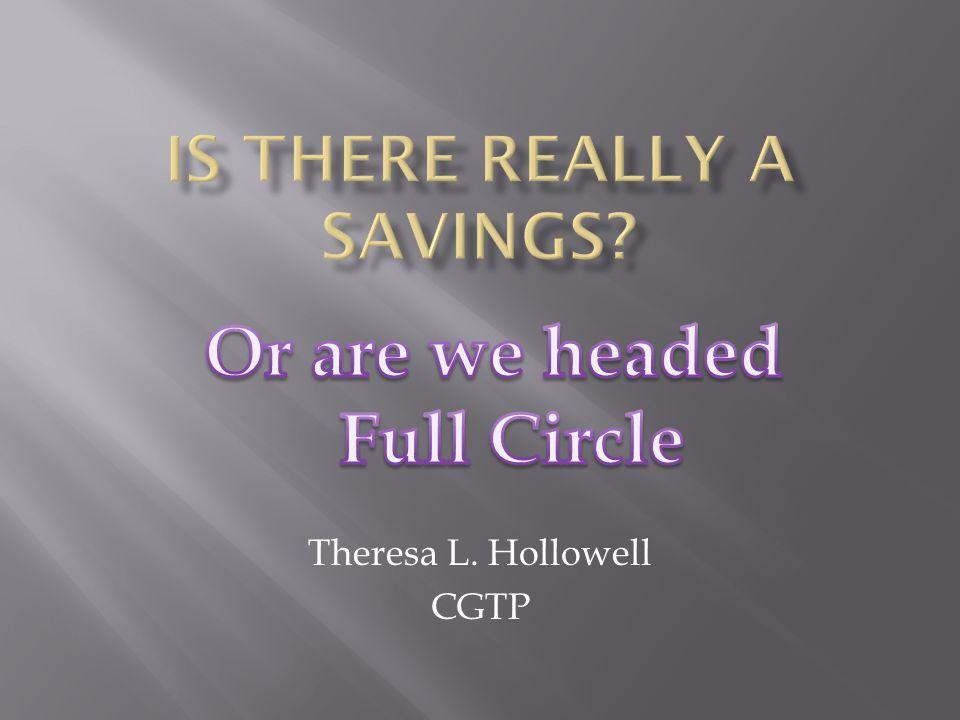 Theresa L. Hollowell CGTP