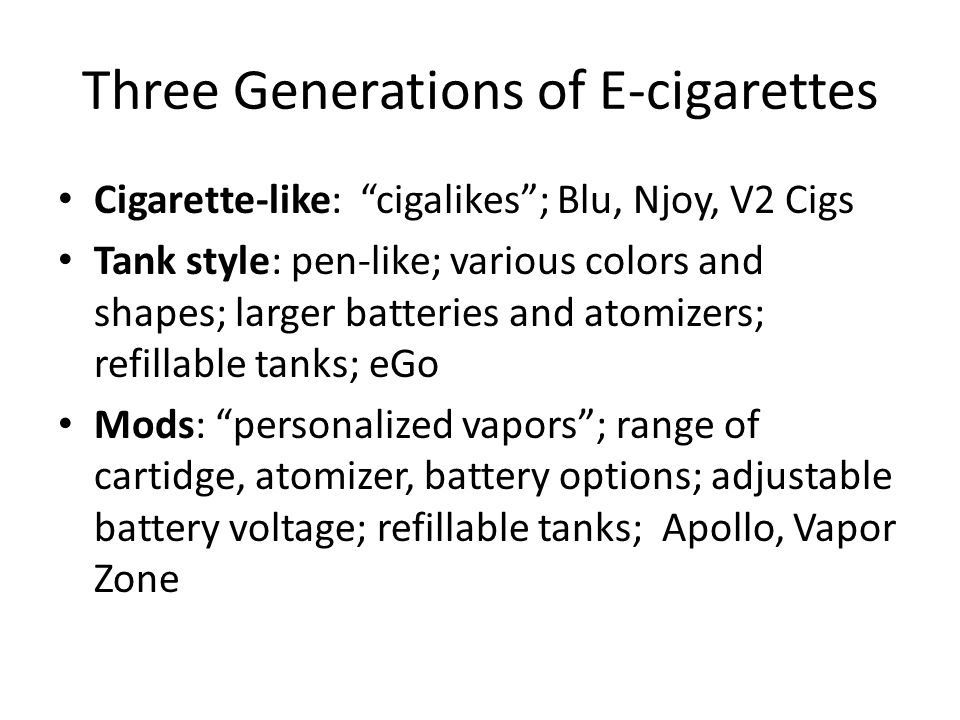 Nonsmokers living with cigarette smokers (CS) e-cigarette users (EC) or no exposure (C) Passive Exposure to Nicotine from Cigarettes v.