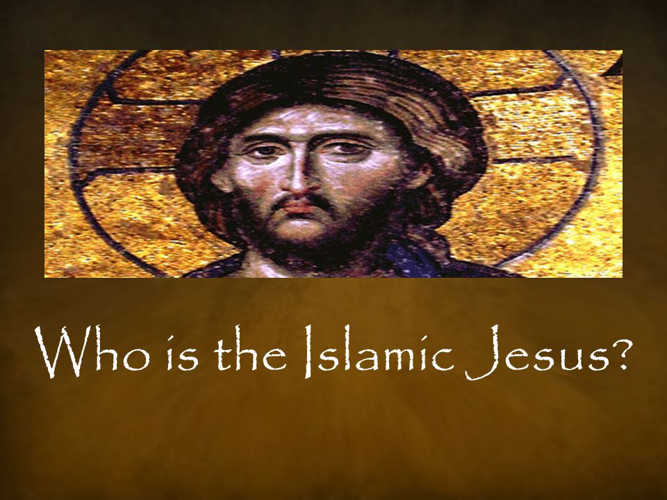 At first, the Islamic Jesus looks like the Biblical Jesus… Born of a virgin: She said: My Lord.