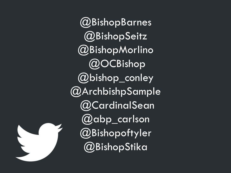 @BishopBarnes @BishopSeitz @BishopMorlino @OCBishop @bishop_conley @ArchbishpSample @CardinalSean @abp_carlson @Bishopoftyler @BishopStika