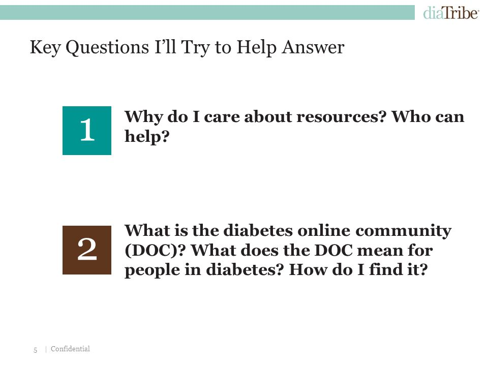 | Confidential5 Key Questions I'll Try to Help Answer Why do I care about resources.
